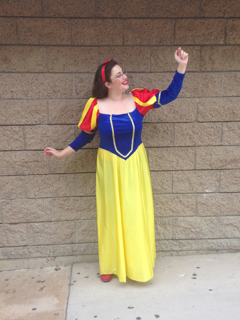 senior Samantha Steinberg as Snow White