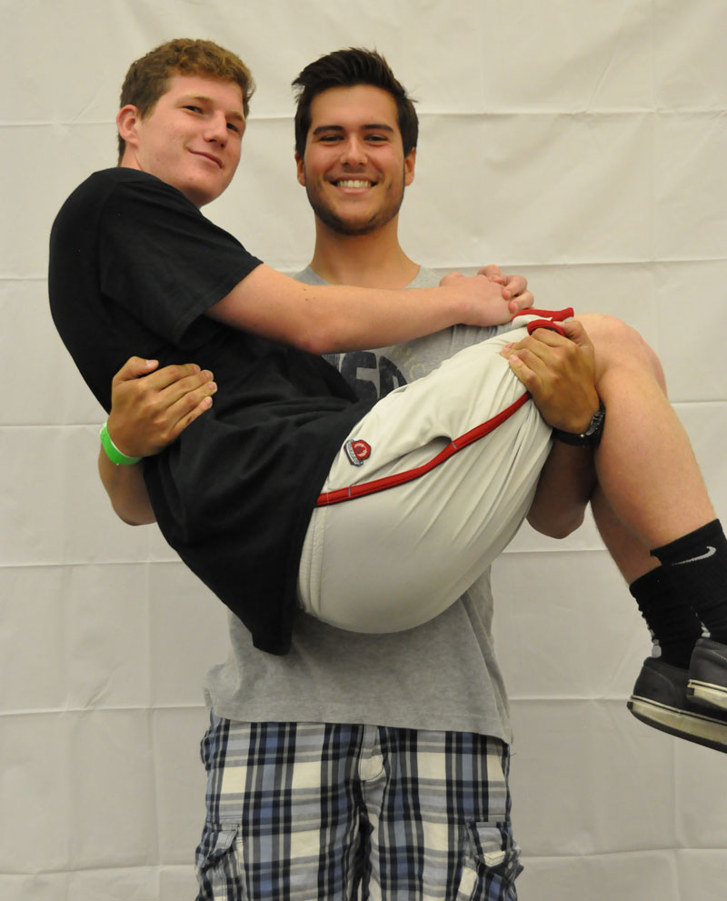 Adrian Sirio and Tyler Hagen
