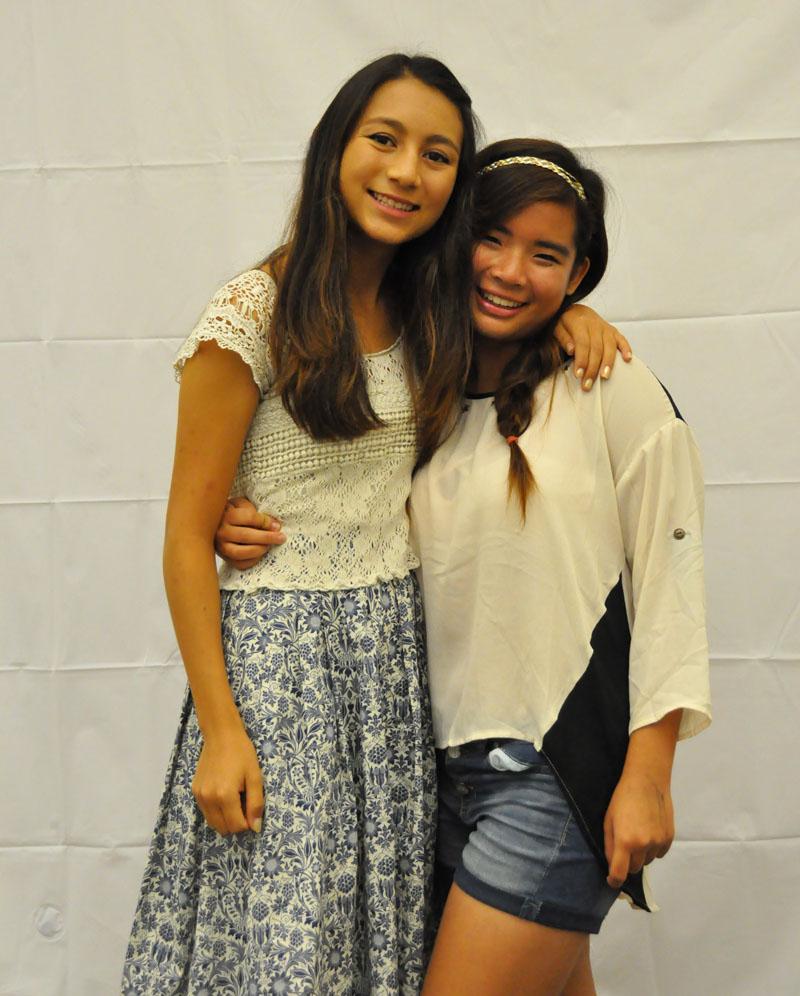 Olivia Nguyen and Iliana Lee