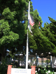 flagpole (Today at SDA: Remembering 9/11)