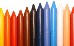 Mustang Musings: Crayon Colors