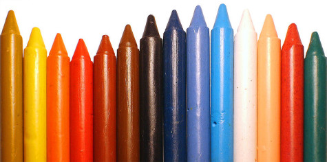 Mustang Musings: Crayon Colors