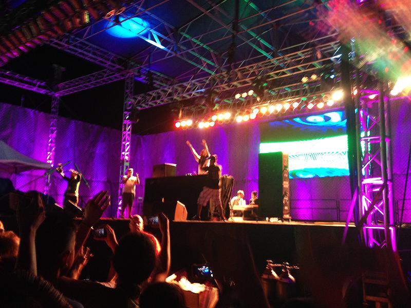 Steve Aoki Brings Crowd Together