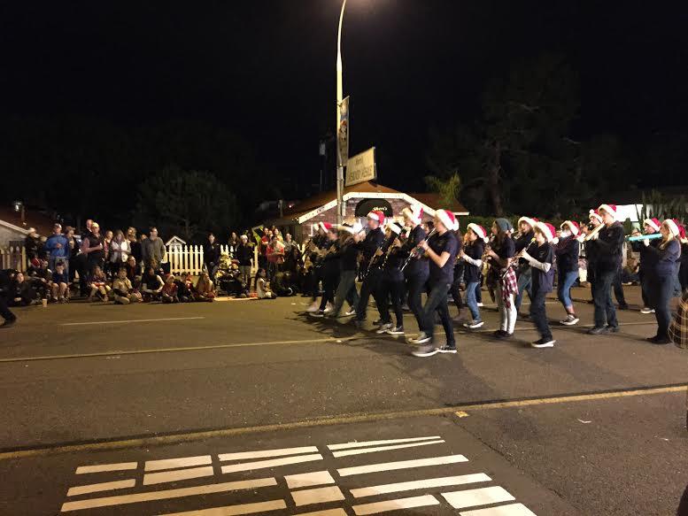 Encinitas Holiday Parade: Band Performance