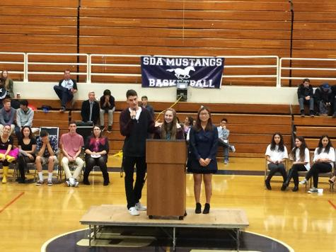 Today at SDA: Student Election Assembly