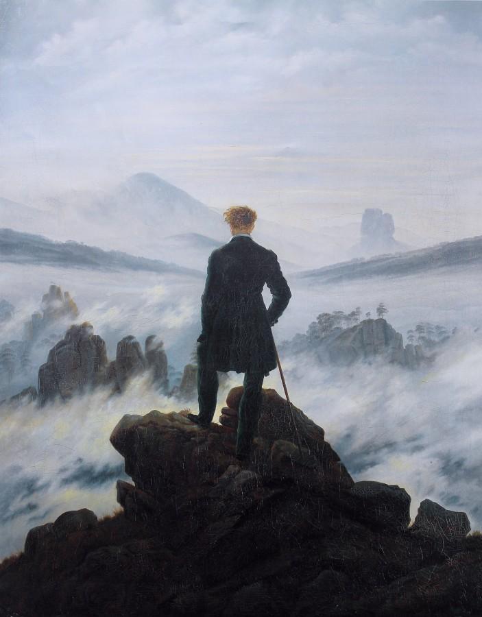 Art History: Wanderer above the Sea of Fog