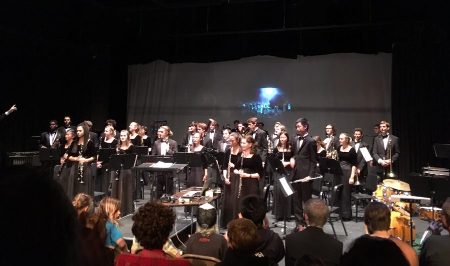 A Thrilling and Chilling Wind Ensemble Concert
