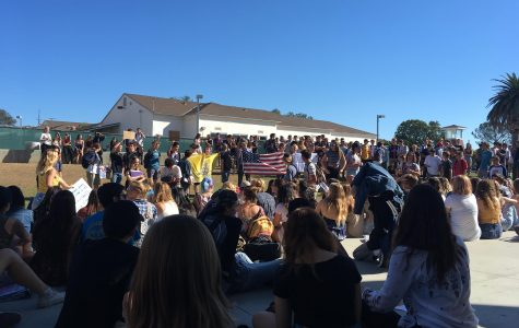 Students Hold Walk-Out to Protest Trump