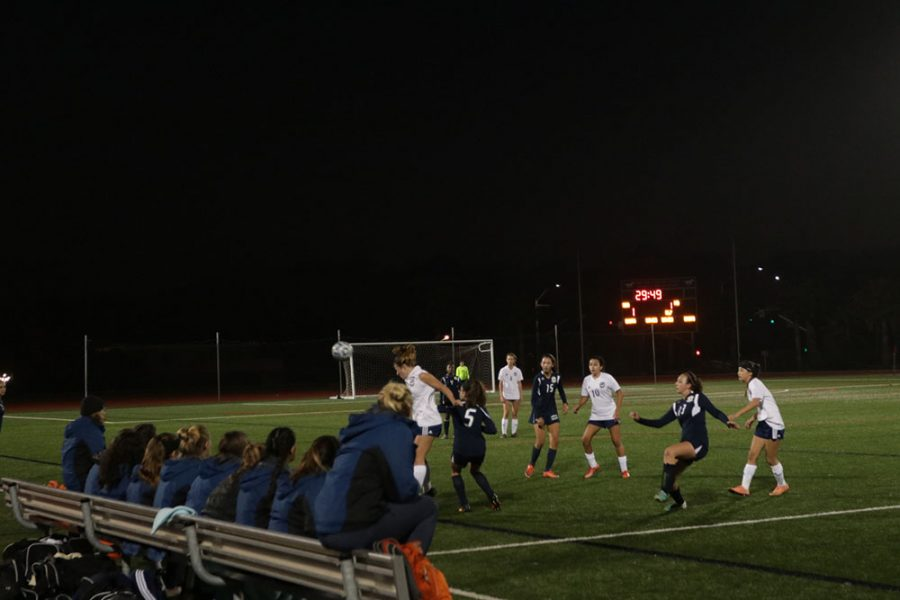 Two Score Hat-Tricks in Girls Soccer Game Versus Mater Dei