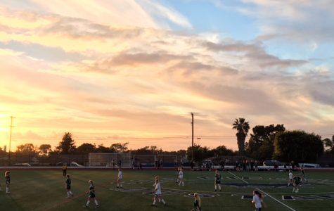 Girls Freshman Soccer Team Plays LCC