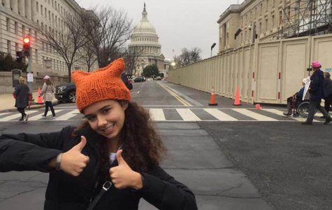 Senior Flies to Washington D.C. for Women's March on Washington