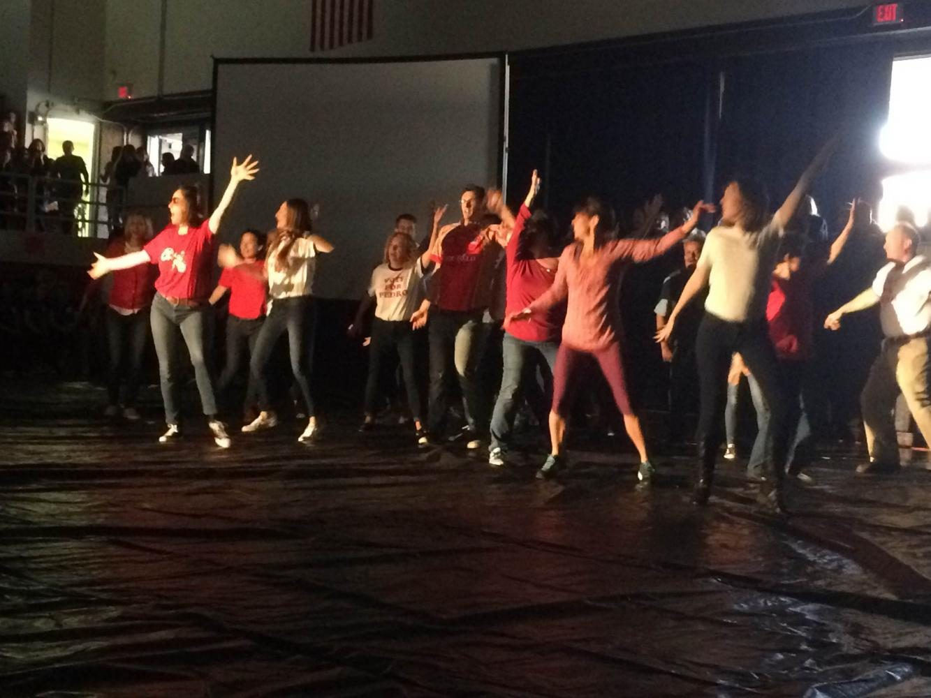 Spring Assembly Gets Teachers Moving