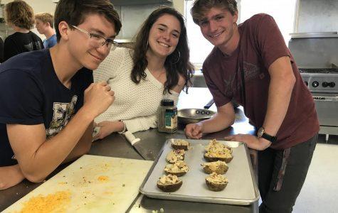 Today at SDA: Culinary Arts Makes Baked Potatoes