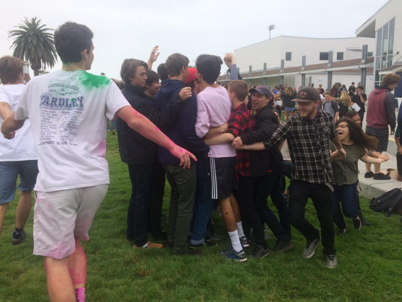 Homerooms Race for First in Homeroom Olympics Finale