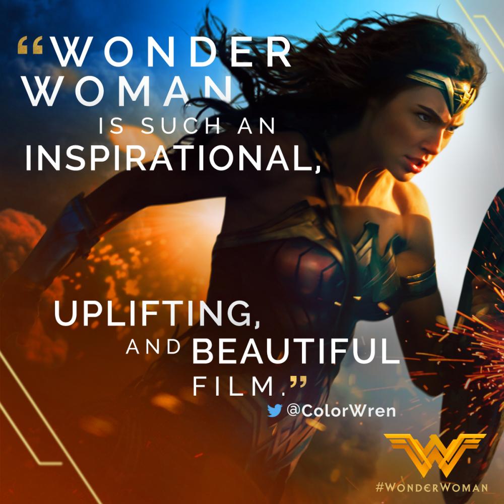 """""""Wonder Woman"""" Review"""