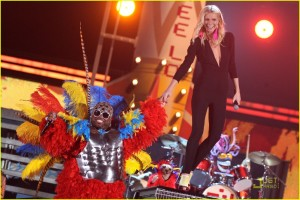Cee Lo Green wows at Grammys
