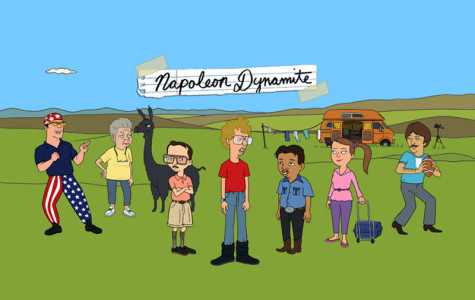 Napoleon Dynamite: Cartoonized
