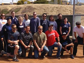 Teachers vs. Students Softball Game