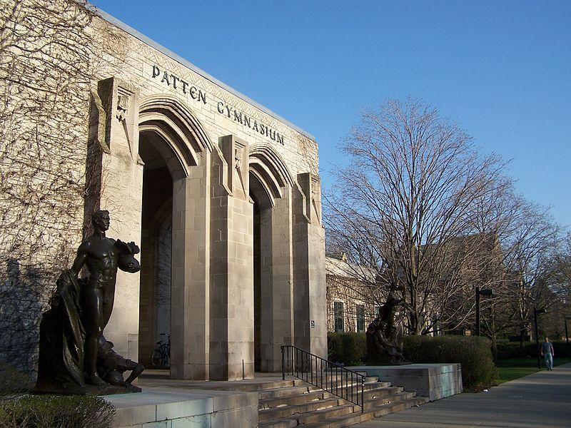 The+gymnasium+of+Northwestern+University