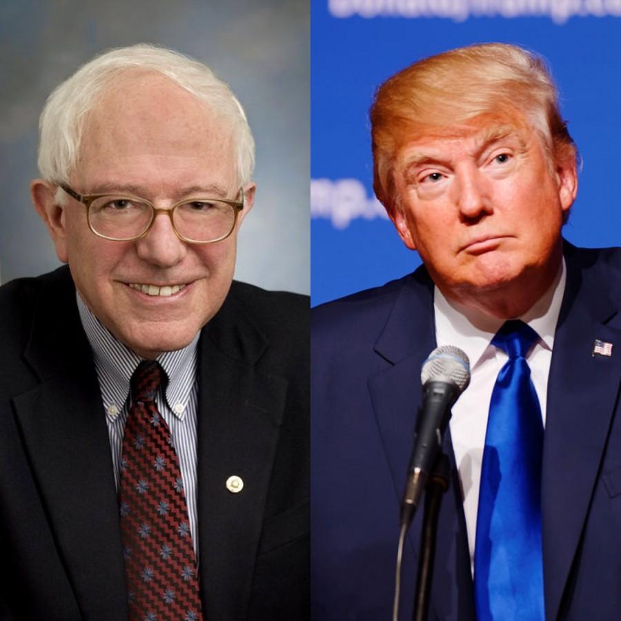Donald+Trump+Announces+Bernie+Sanders+as+Vice+Presidential+Bid