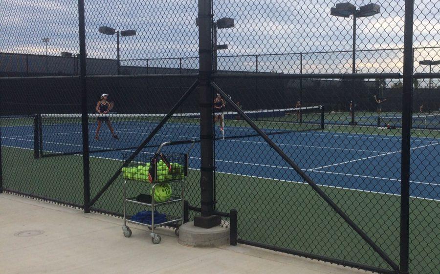 Today at SDA: Girls Tennis