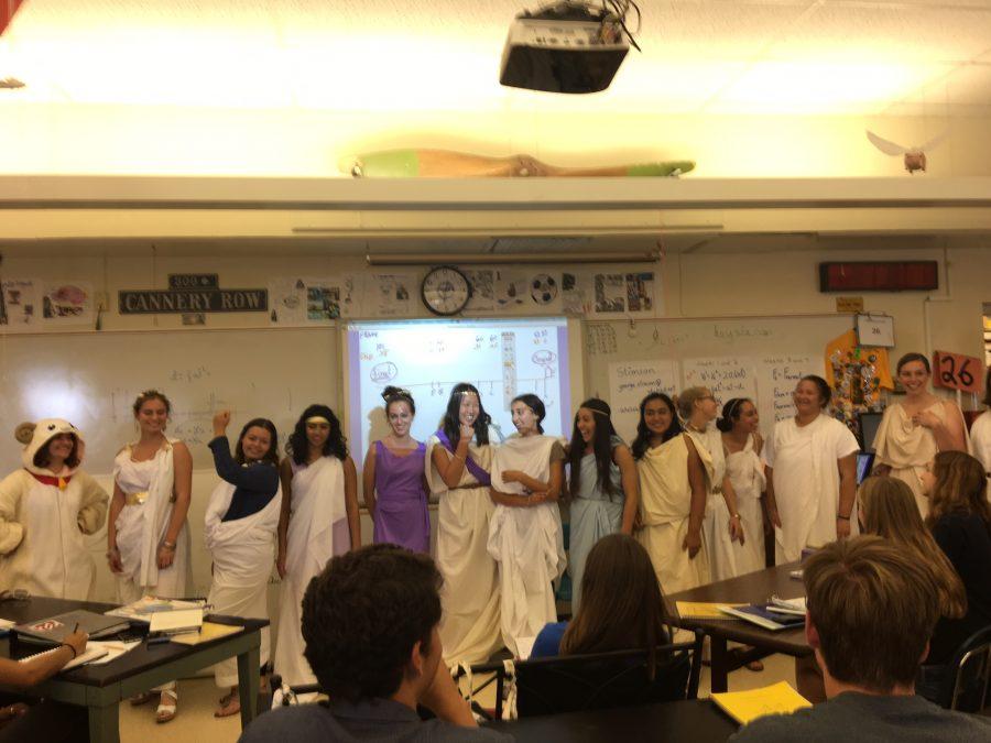 Today at SDA: Greek Day