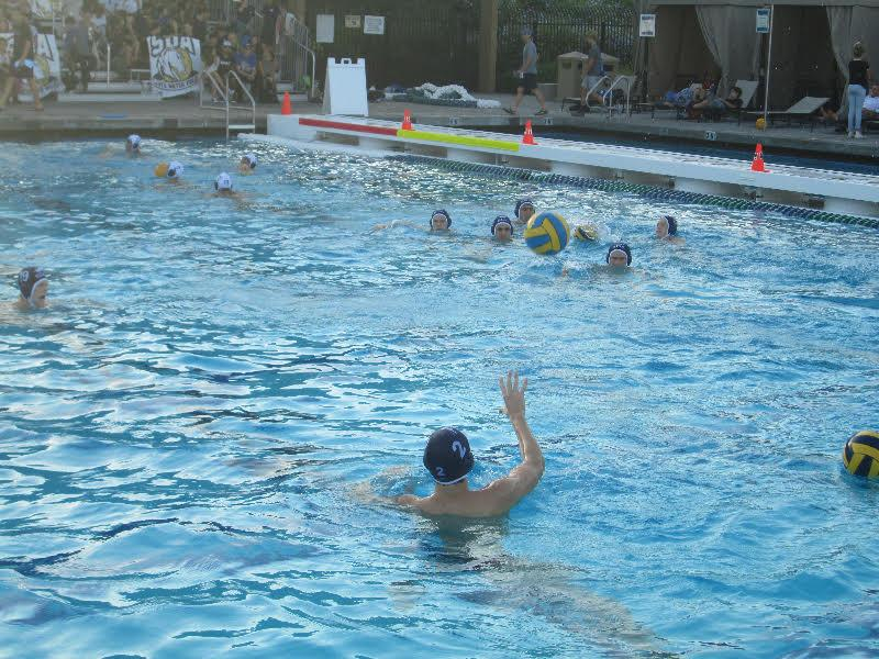 Varsity Boys Water Polo Dominates First Game