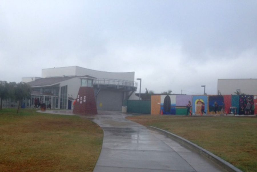 Today at SDA: Rain Doesn't Stop the Art Kids