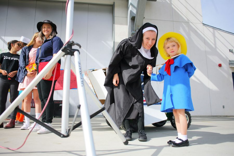 Students Get Creative for Halloween Costume Contest