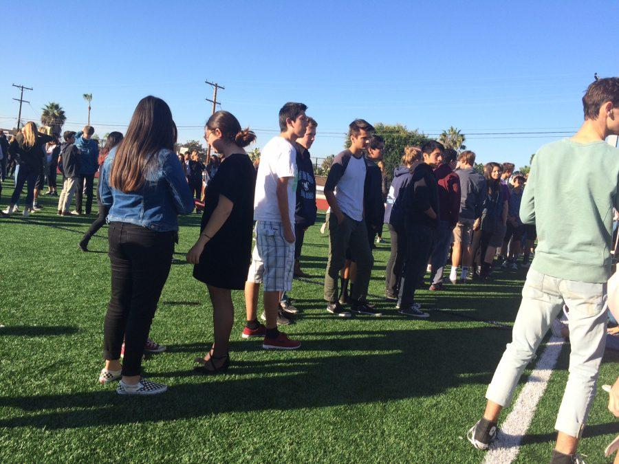 Fire Alarm Set off During First Period