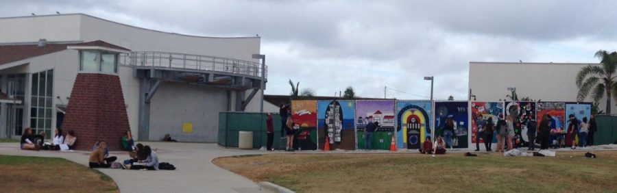 Today At SDA: Mural Nearly Finished
