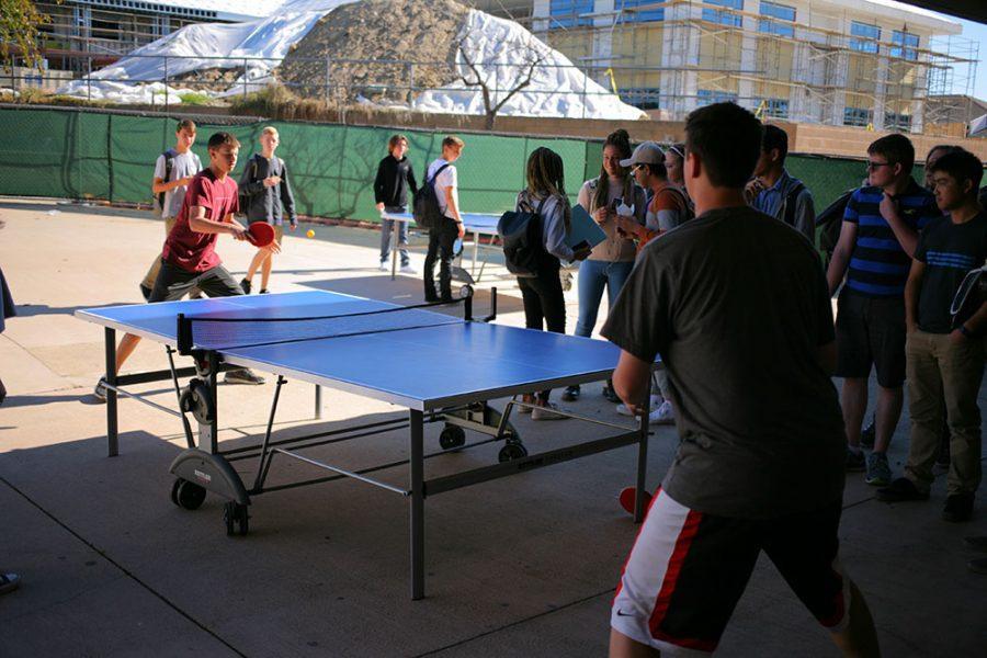 Today at SDA: Ping Pong Tournament