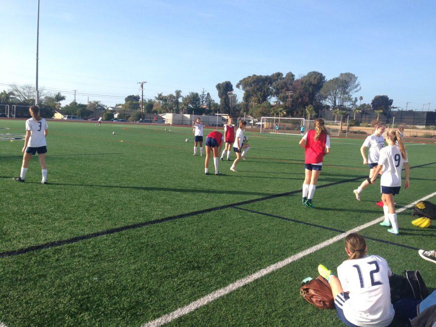 Today at SDA: Girls Soccer Has First Preseason Game