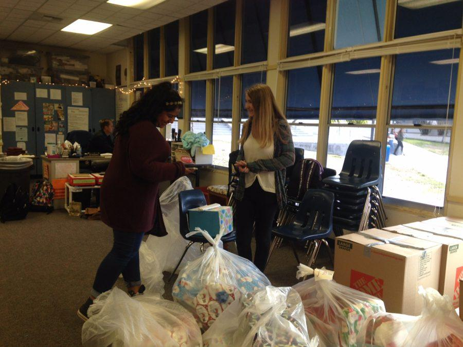 Today at SDA: Adopt a Family Gifts Delivered to ASB