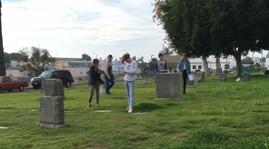 Today at SDA: Fieldtrip to the Cemetery