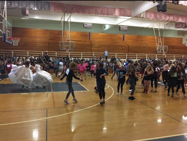 Homeroom Olympics Contestants Dance the Day Away