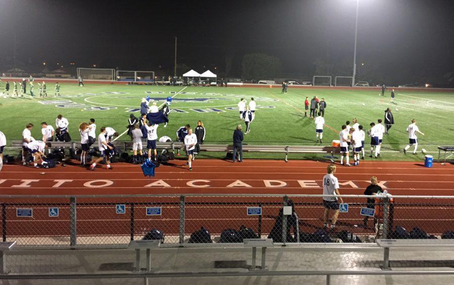 Boys Soccer Senior Night vs LCC