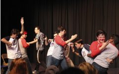 SDA Plays LCC in Comedy Sportz Red Rover Game