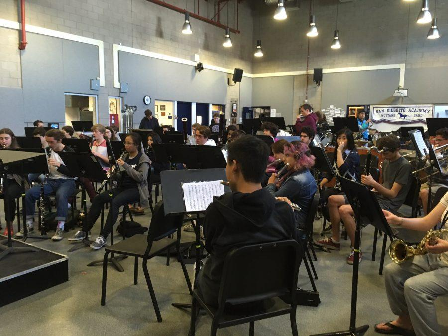 Today at SDA: Guest Speaker in Band