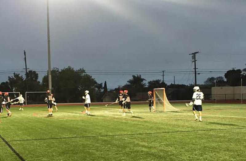 Boys Lacrosse Plays CCA  for Academy Cup