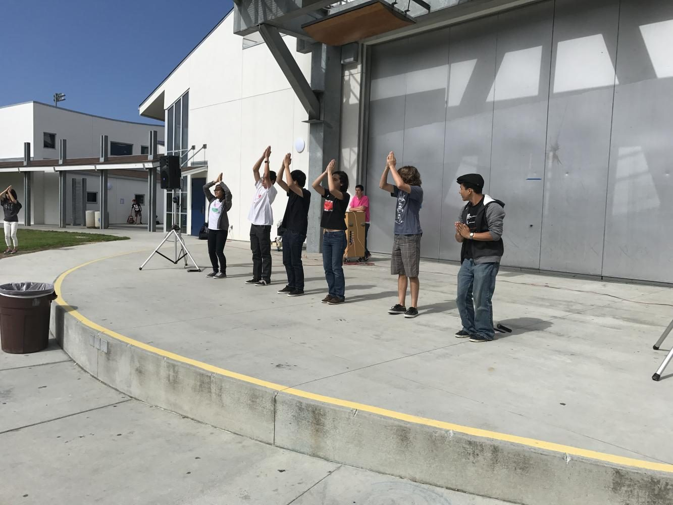 Students Dance to Japanese Music