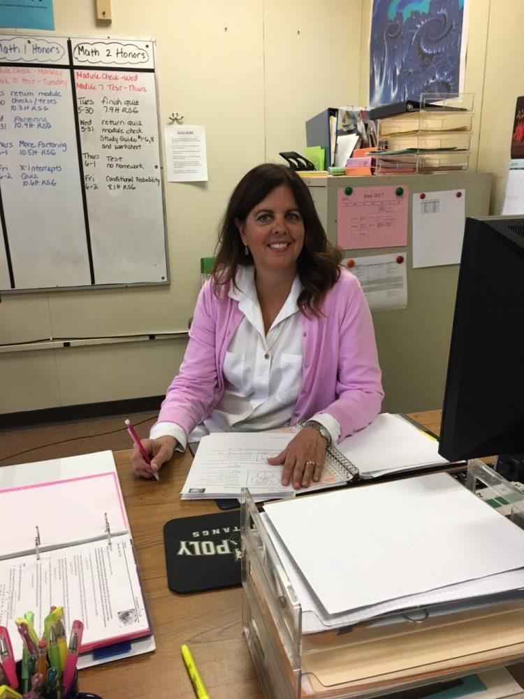 Math Teacher Wins Crystal Apple Award