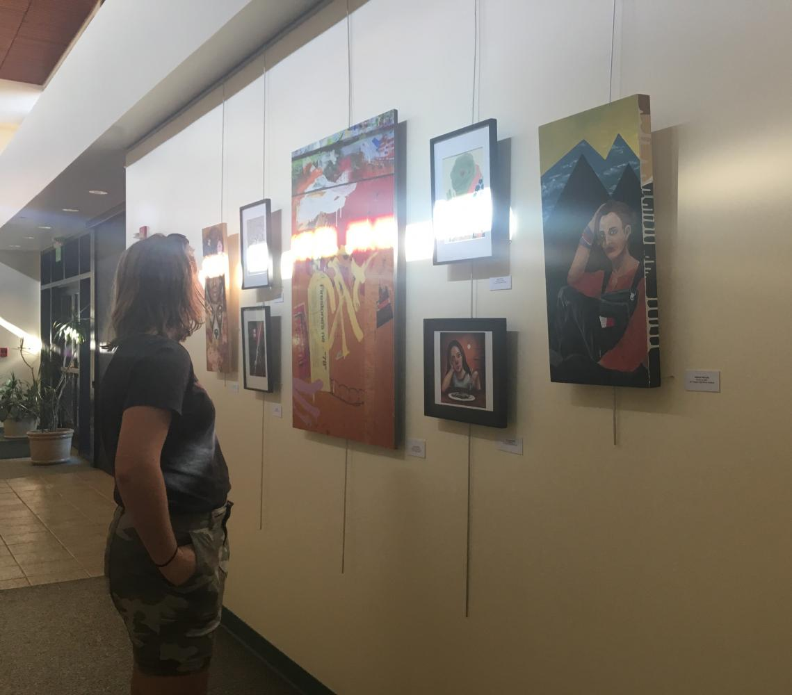SDA students put their artwork on display in a showcase at the Encinitas Community Center.