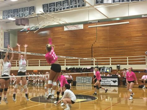 SDA and CCA Compete in Dig Pink Match