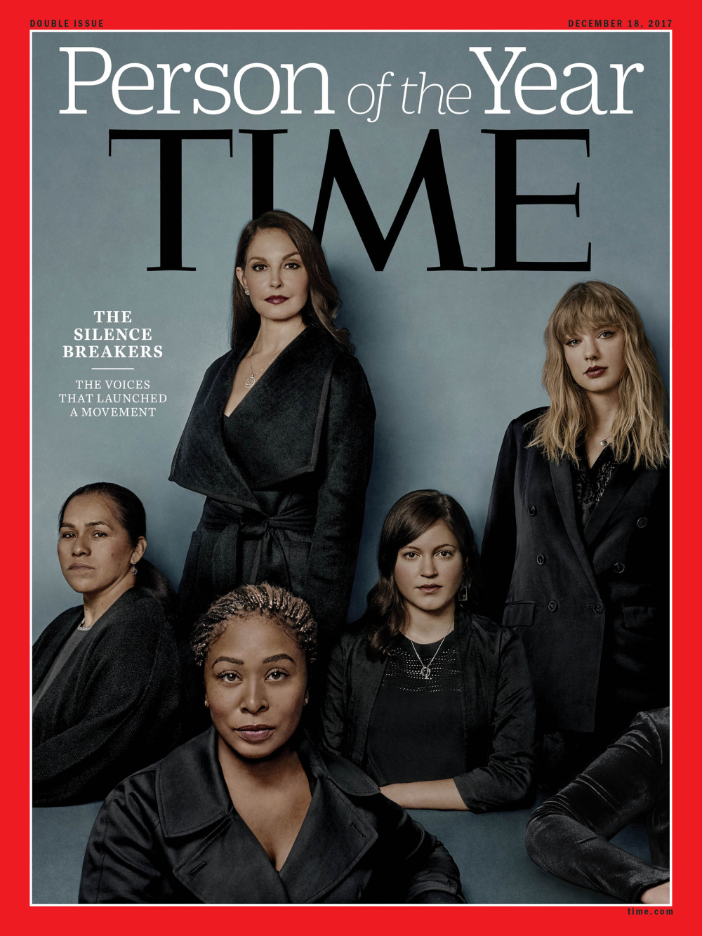 TIME Magazine's 2017 Persons of the Year cover features just a few of the Silence Breakers who helped launch the movement against sexual assault.