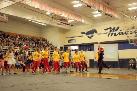 robotics dance (Dance-Offs, Golden Mustang Awards, and More at Winter Assembly)