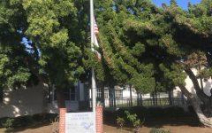 Today at SDA: Flags at Half-Mast