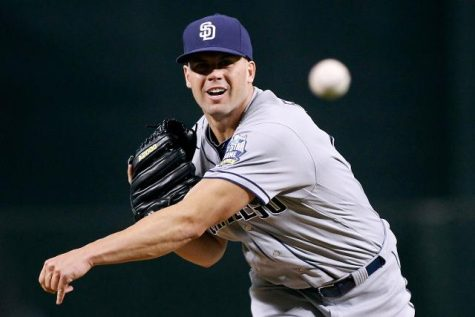 Veteran Clayton Richard will help mentor the young Padres team.