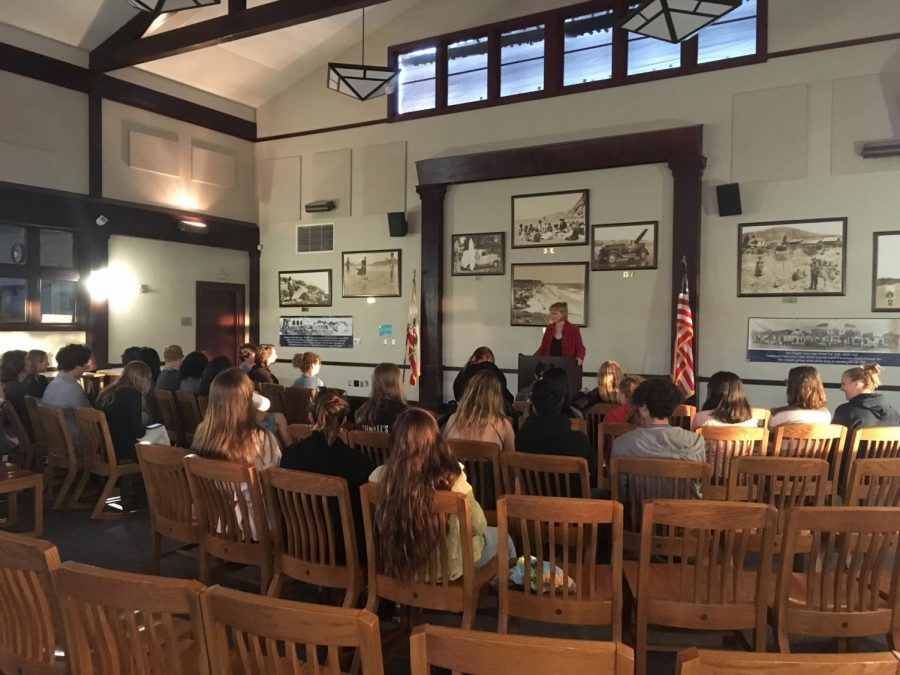 Students Share Work at Open Mic Night