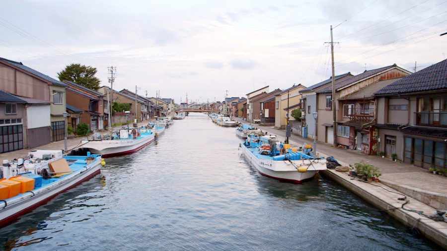 Toyama is the city the Japanese exchange students are from.